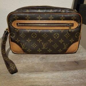 Authentic Louis Vuitton Clutch Tote Pouch